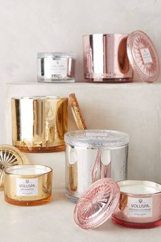 Voluspa Glass Maison Candle - anthropologie.com | Pinned by topista.com