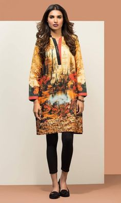 Orient Textiles Ready to Wear Digital Collection 2016 For Girls  #OrientTextile #Lawn #DressesCollection #DigitalCollection #Dresses #KurtaCollection