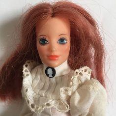 Bambola Ideal Jody Old Fashioned Doll 1975 capelli rossi 9  22cm abiti originali