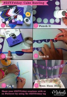 #CraftWars #Cake #Bunting