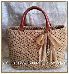 Navy Blue Grey Crochet Bag Gift for Her by handknittedbymaria Bag Crochet, Crochet Handbags, Crochet Purses, Crochet Gifts, Crochet Stitches For Beginners, Handbag Storage, Macrame Bag, Fabric Yarn, Kids Bags