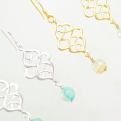 grace george jewelry | Priscilla Earring by Grace George