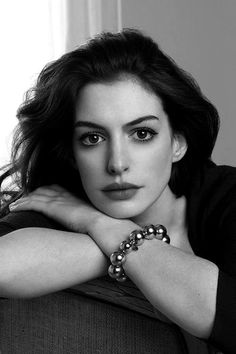 Anne Hathaway. I can see her like this all through my life.