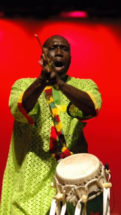 #TBT Cheikh Mbaye in performance at the 2007 Florida African Dance Festival Concert.  As one of the featured guest artists, Cheikh will bring the striking sounds of Senegal to the 19th Annual FADF June 9 – 11 in Tallahassee.  See him and several other sensational percussionists at the 3-day festival weekend.  Make your plans today! Get all of the details at fadf.org.  #FADF2016 #AfricanDance #AfricanDrum #Africa