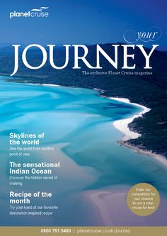 September Journey Magazine - visit www. planetcruise.co.uk Point Of View, Places To See, Planets, Cruise, September, Skyline, Journey, Ocean, Magazine