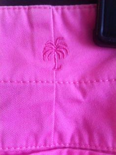 """Lilly Pulitzer Women Pink """"Palm Beach Fit"""" Cropped Capri Pants~Size 4~EUC! #LillyPulitzer #CaprisCropped"""