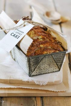 Cinnamon & Apple Cake  |  Crush 47