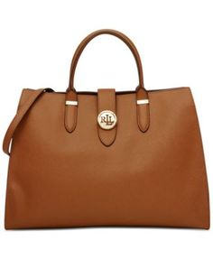 Ralph Lauren offers luxury and designer men's and women's clothing, kids' clothing, and baby clothes. Tote Backpack, Satchel Purse, Tote Bag, Tote Handbags, Purses And Handbags, Leather Handbags, Brown Handbags, Handbag Accessories, Women Accessories