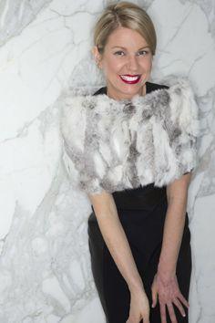Sophie Belander, a former trapeze artist, still finds time for fashion. #style #fashion #sophiebelanger #yyc