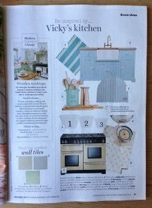 The Kitchen Dresser Company features in the Inspiration Page of June 2014 issue of Country Homes & Interiors Magazine