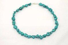 Náhrdelníky - náhrdelník tyrkys rekonštruovaný - 5624417_