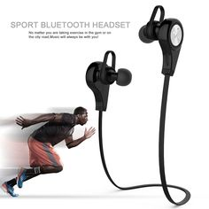 Wireless Bluetooth Earphones Q9 Earphone Sports Stereo Earphone Headset Auriculares Bluetooth with Mic for Xiaomi Samsung Huawei