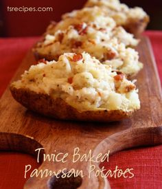 Twice-Baked Parmesan Potatoes – transforming your next side dish into something special!