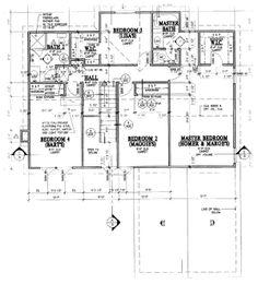 Simpsons House Blueprint