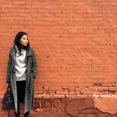 #FallForUs aritzia grey modern minimal fashion outfit