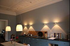 indirekte beleuchtung decke dunkeles interior leuchte wandbeleuchtung büro