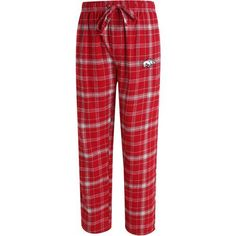 Concepts Sport Men's University of Arkansas Ultimate Flannel Pant (Red Medium, Size Small) - NCAA Licensed Product, NCAA Men's Fleece/Jackets at Ac...