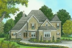 House Plan 413-796 upstairs would work well for us