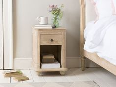 We have a super range of bedside tables. From French style, solid oak, gorgeous painted ones and metal bedside cabinets. Take a look at our lovely range. Wooden Bedside Table, Bedside Tables, Painted Side Tables, Master Bedroom, Bedroom Decor, Porcelain Sink, Bedside Cabinet, Solid Oak, Inspiration