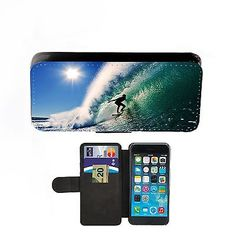 Beach #surfing faux leather flip #phone case protective #cover sun,  View more on the LINK: http://www.zeppy.io/product/gb/2/321906133530/