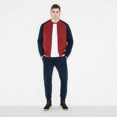 Men's Clothing Mens Vintage Giorgio Armani Beige Bomber Harrington Jacket Coat 50 üBereinstimmung In Farbe Coats & Jackets
