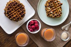 Maple Sugar Waffles (Paleo and AIP-friendly!) calls for green plantains, tigernut flour, and applesauce