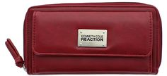 Kenneth Cole Reaction Womens Napa Zip-Around Urban Organizer Wallet * Trust me, this is great! Click the image. : Handbag Wallets