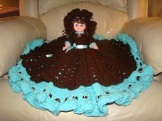 Pretty Miss (variation of a Fibre Craft Bed Doll Pattern)