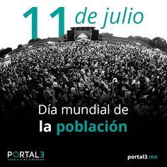 Día mundial de la #población  http://portal3.mx/