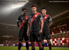 Adidas x EA Sports Manchester United, Real Madrid, Bayern Munich and Juventus Digital Fourth Kits Revealed Manchester United, Real Madrid, Munich, Ea Sports Fifa, Adidas, Fifa 17 Ultimate Team, Team Wear, Online Business, Hip Hop