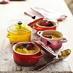 """Giveaway: Win a Set of Le Creuset """"Petite"""" Casserole Dishes"""