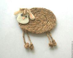 Sheep Crafts, Burlap Crafts, Felt Crafts, Easter Crafts, Christmas Crafts, Christmas Ornaments, Yarn Animals, Easter Pillows, Bible School Crafts