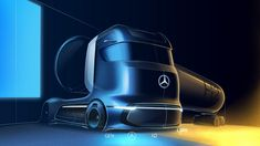 New Mercedes-Benz GenH2 Fuel-Cell Semi Concept Previews Production Model Coming Soon | Carscoops Mercedes Benz Trucks, New Mercedes, Cell Model, Hydrogen Fuel, Pre Production, Truck Design, Futuristic Cars, New Trucks, Transportation Design