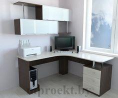 угловые компьютерные столы с полками и ящиками фото: 24 тыс изображений найдено в Яндекс.Картинках