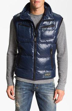 Diesel Weris Puffer Vest in Blue for Men (midnight/ blue) Princes Fashion, Diesel Jacket, Down Vest, Puffer Vest, Midnight Blue, Winter Fashion, Winter Jackets, Man Shop, Mens Fashion