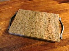 Solid Granite Trivet Cutting Board Cheese by CreativelyRepurposed, $45.00