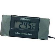 Herbert Richter 4518 Thermometer Binnen-/buitentemperatuur Opbouw Kabelsensor Standvoet  Geschikt voor elke auto of voor thuis (broeikas zwembad aquarium koelkast bij het raam) of op kantoor. Klik verder voor meer info.  EUR 14.99  Meer informatie