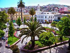 Plaza Echaurren, Valparaíso.