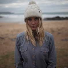 Sophie Hellyer. Finisterre Esam Beaniehttp://www.finisterreuk.com/shop/accessories/clothing/wool-accessories/esam-beanie-oatmeal.html