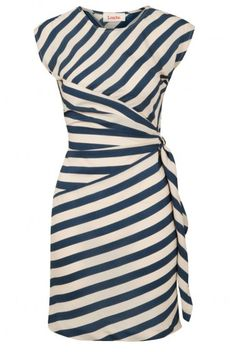 Louche Badger Stripe Dress by: abibas Mode Outfits, Work Attire, Work Fashion, Striped Dress, Dress To Impress, What To Wear, Dresses For Work, Dresses Dresses, My Style