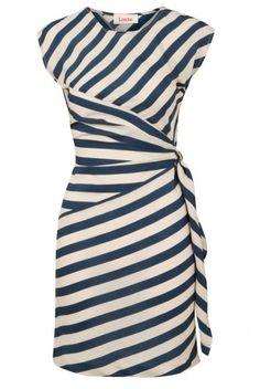 cap sleeves, stripes, wrap style