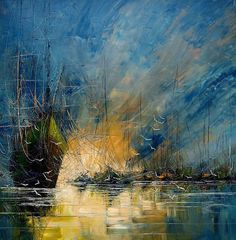 Justyna Kopania  Cette artiste peint la mer et les bateaux comme personne Absolument magnifique