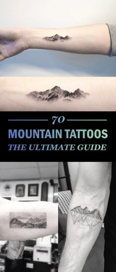 The Ultimate Guide To Mountain Tattoos (70 Photos)