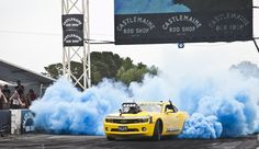 Burnout Masters Champion - Steve Nogas and KILLAB ripping up the pad at Car Pics, Car Photos, Car Pictures, Chevy Camaro, Chevrolet, Burn Outs, Aussie Australia, Smoke Bombs, Powder Paint