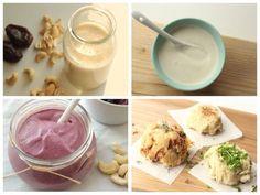 Cashewmilch, -sahne, yoghurt, und -käse machen :D