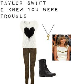 """Taylor Swift - I Knew You Were Trouble"" by niall-is-the-best on Polyvore"