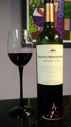 Malbec é a uva tradicional da argentina e este da Bodega Nieto Senetiner é um dos seus grandes representates.