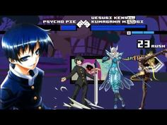 New Mugen EVE [HD] - Psycho Pie vs  Kumagawa Misogi and Uesugi Kensin