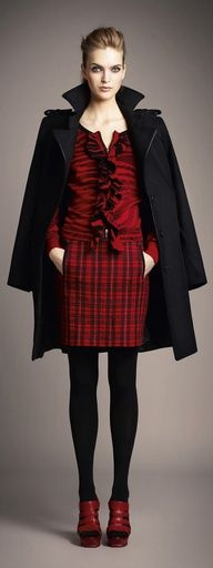 Tartan and texture perfection!