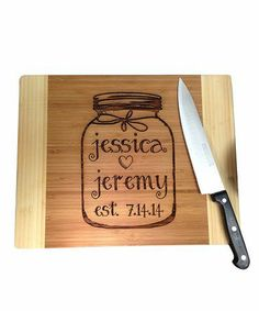Personalized Cutting Board.